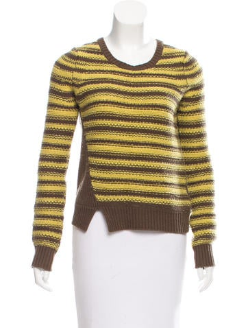 Thakoon Striped Wool Sweater None