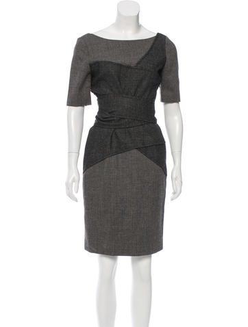 Thakoon Wool Sheath Dress None