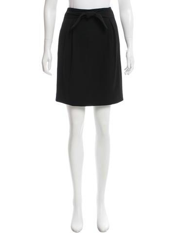 Thakoon Wool Pleated Skirt None