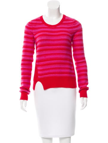 Thakoon Wool Striped Sweater None