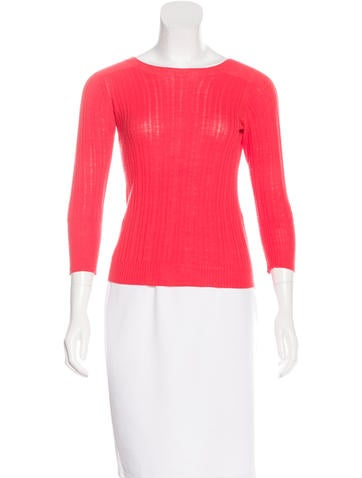Thakoon Rib Knit Wool Sweater None