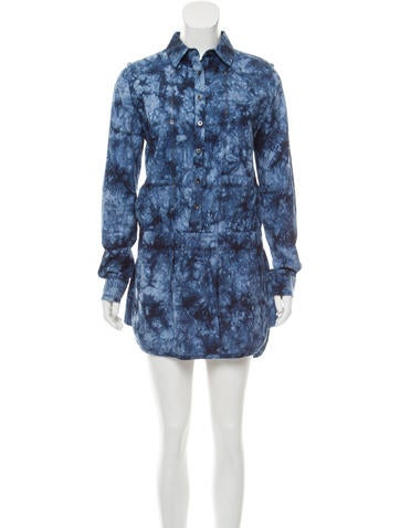 Thakoon Printed Long Sleeve Romper None
