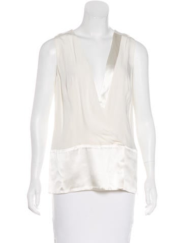 Thakoon Wool Sleeveless Top None