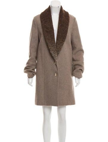Thakoon Wool Knee-Length Coat None