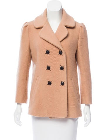 Thakoon Wool Double-Breasted Coat None