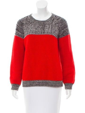 Thakoon Wool Colorblock Sweater None