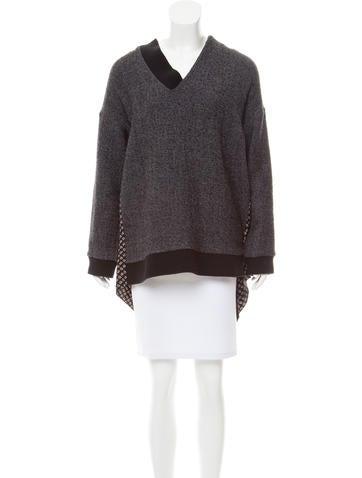 Thakoon V-Neck Sweater None