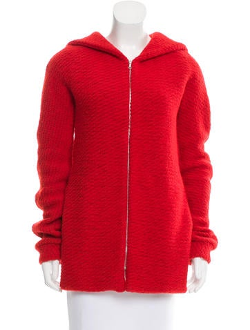 Thakoon Knit Hooded Jacket None