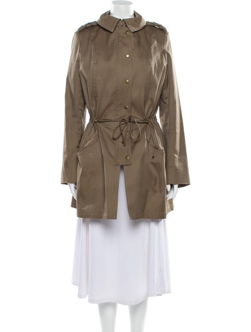 Thakoon Trench Coat Green