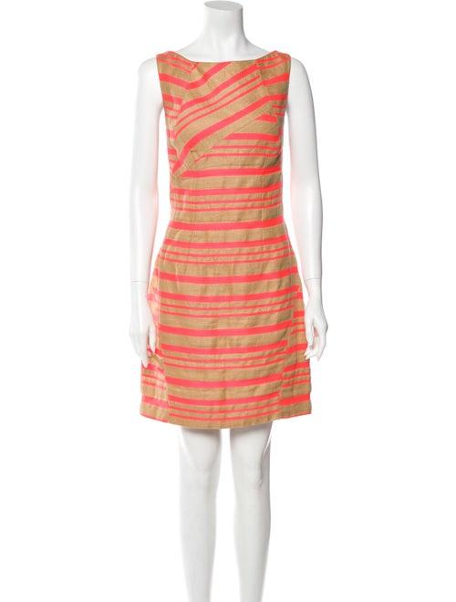 Thakoon Linen Mini Dress Pink
