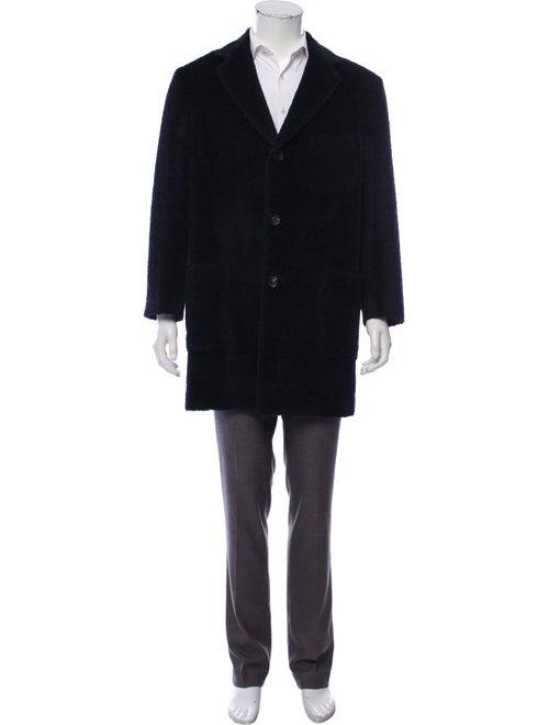 The Gigi Virgin Wool Overcoat blue