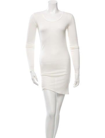 Thom Krom Rib Knit Bodycon Dress w/ Tags None