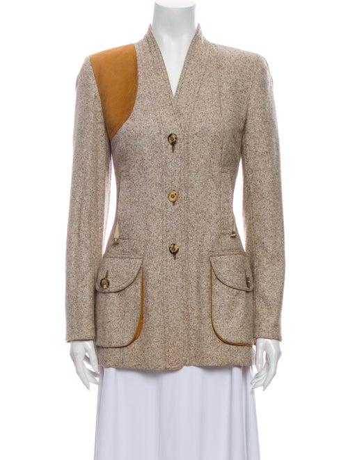 Wathne Silk Tweed Pattern Blazer