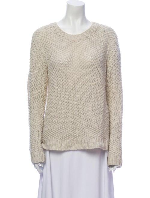 Theory 38 Wool Scoop Neck Sweater Wool