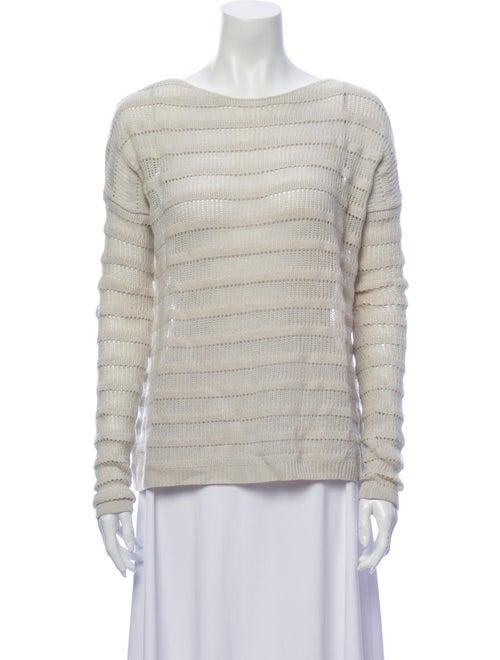 Theory 38 Wool Striped Sweater Wool