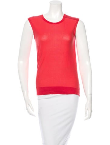 Theyskens' Theory Sleeveless Knit Top None