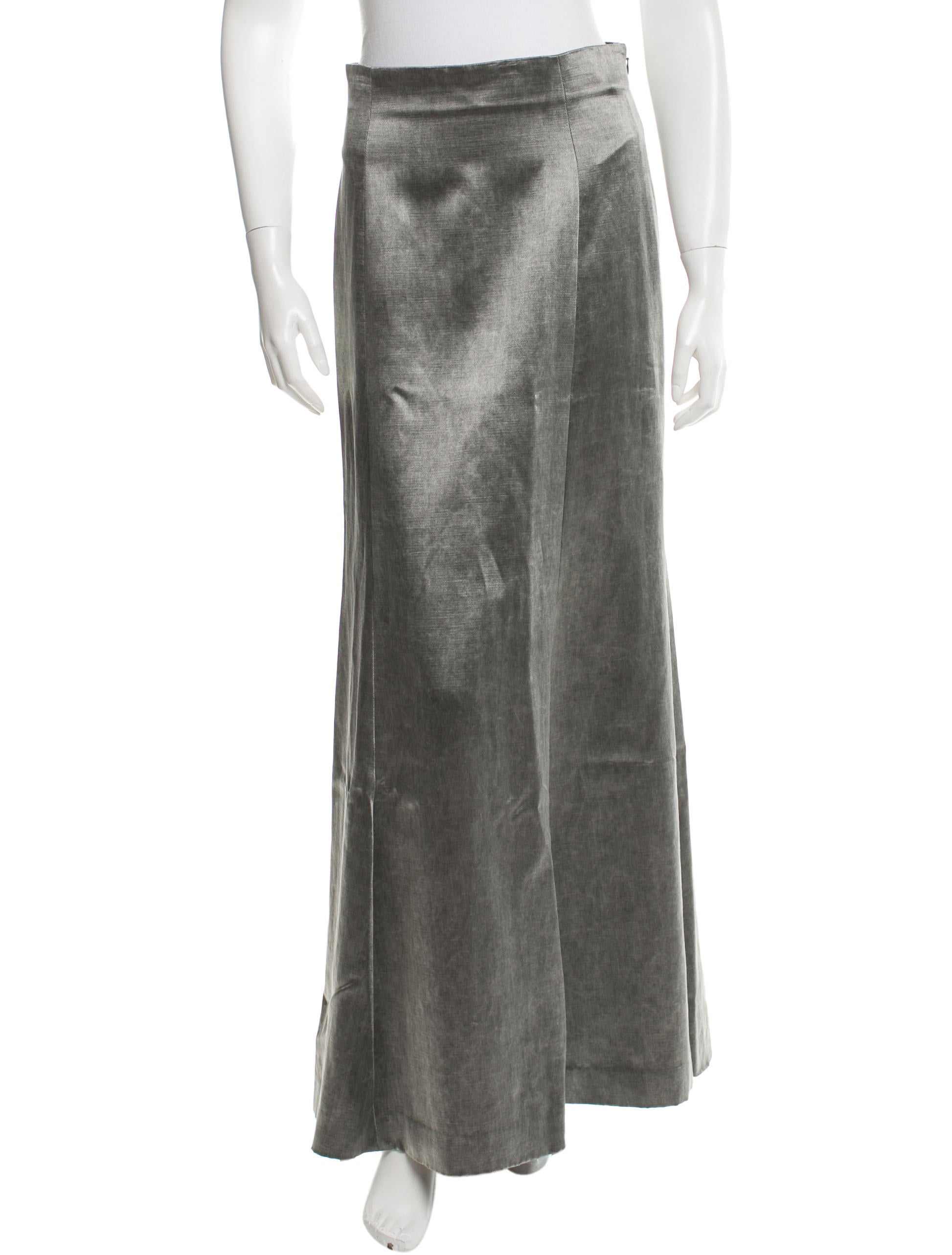 theyskens theory a line maxi skirt clothing