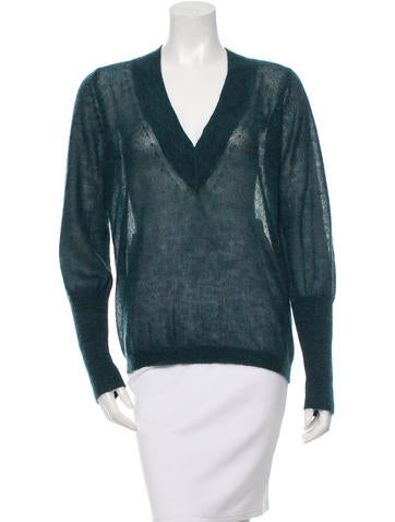 Theyskens' Theory V-Neck Sweater None