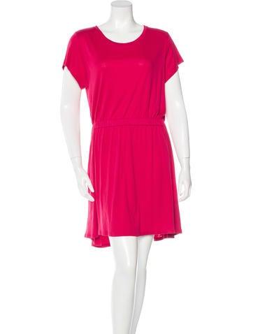 Theyskens' Theory Short Sleeve Mini Dress