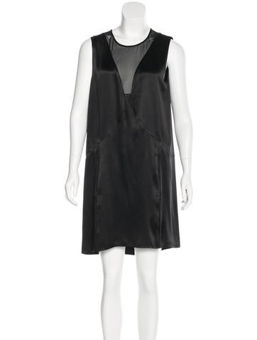Theyskens' Theory Silk Sleeveless Dress None