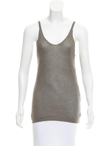 Theyskens' Theory Silk Knit Top None