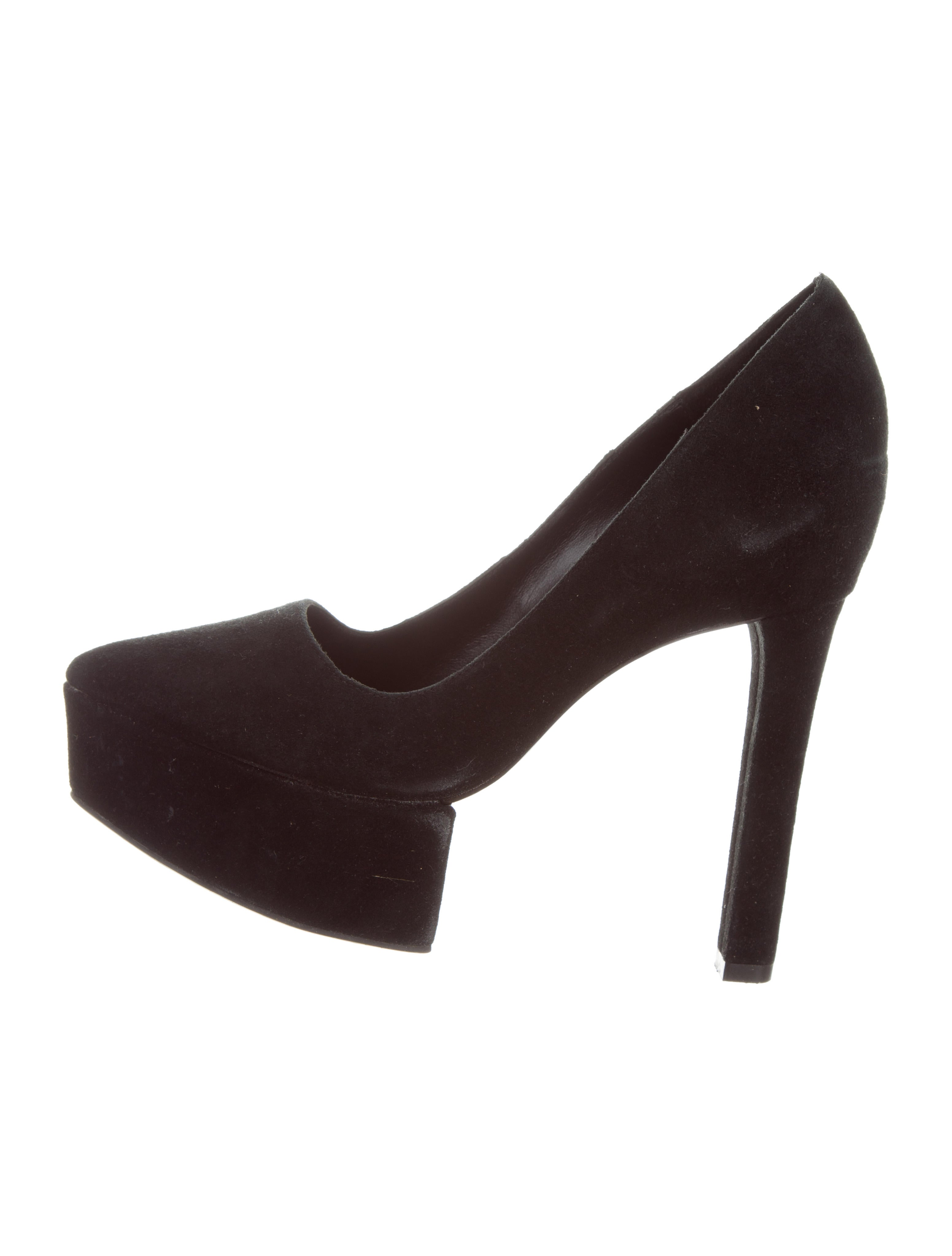 Theory Suede Platform Pumps outlet discount cheap discounts outlet authentic cheap sale amazon shop offer cheap price yTWUIWEJ