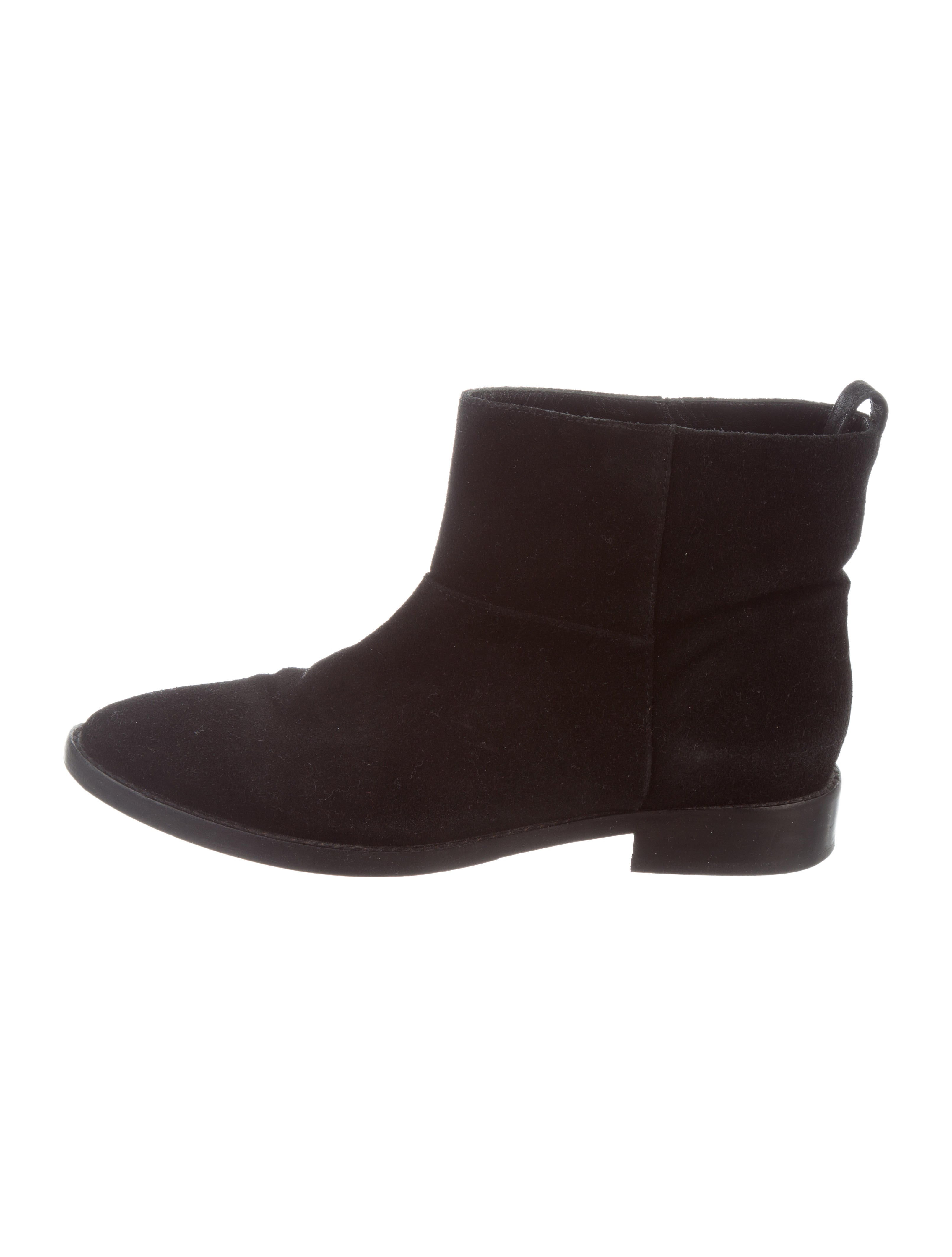 great deals for sale Theyskens' Theory Suede Pointed-Toe Boots discount Inexpensive amazon footaction buy cheap outlet store pnjy4Jq