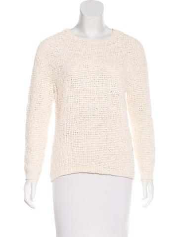 Theyskens' Theory Open Knit Sweater None
