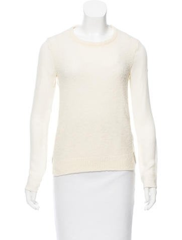 Theyskens' Theory Wool Long Sleeves Top None