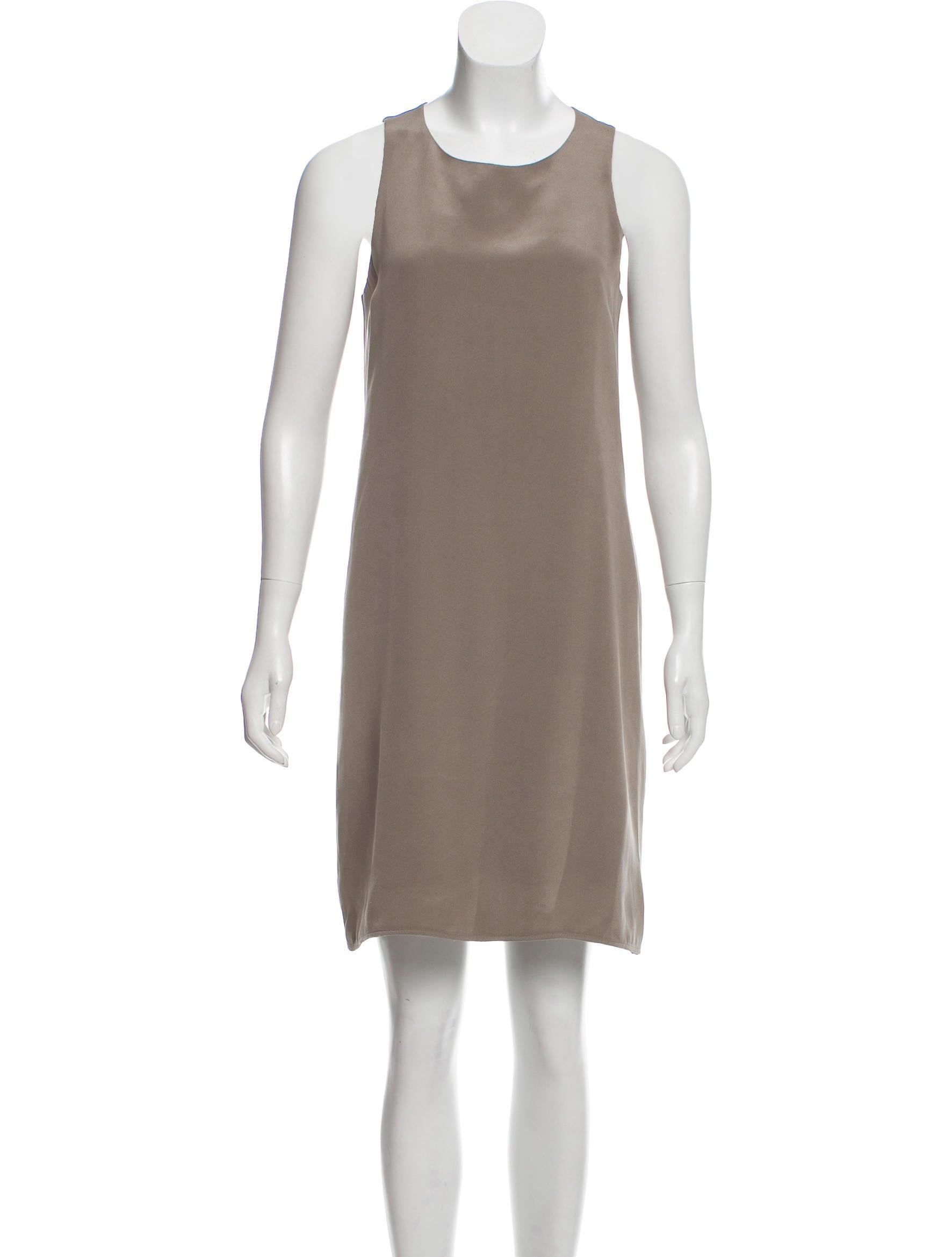 a85603b8b5 Theyskens' Theory Silk Mini Dress - Clothing - WTHYS28468   The RealReal