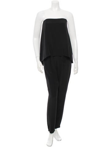 Tibi Silk Jumpsuit w/ Tags None