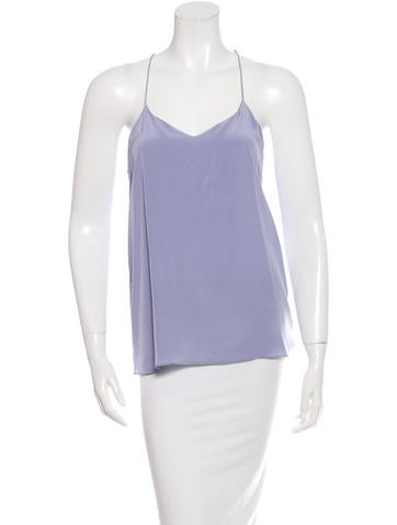Tibi Silk Sleeveless Top w/ Tags None