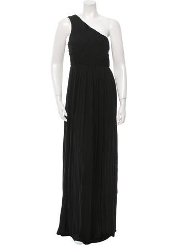 Tibi Gathered Maxi Dress w/ Tags