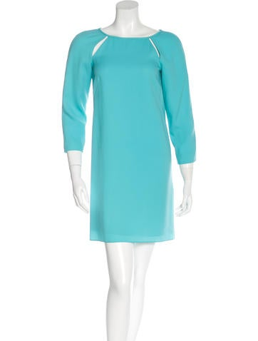 Tibi Cutout Mini Dress None