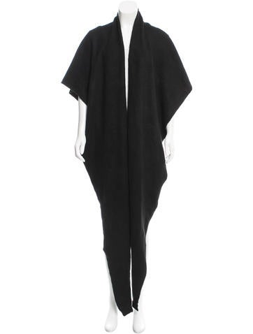 Tibi Woven Black Shawl w/ Tags