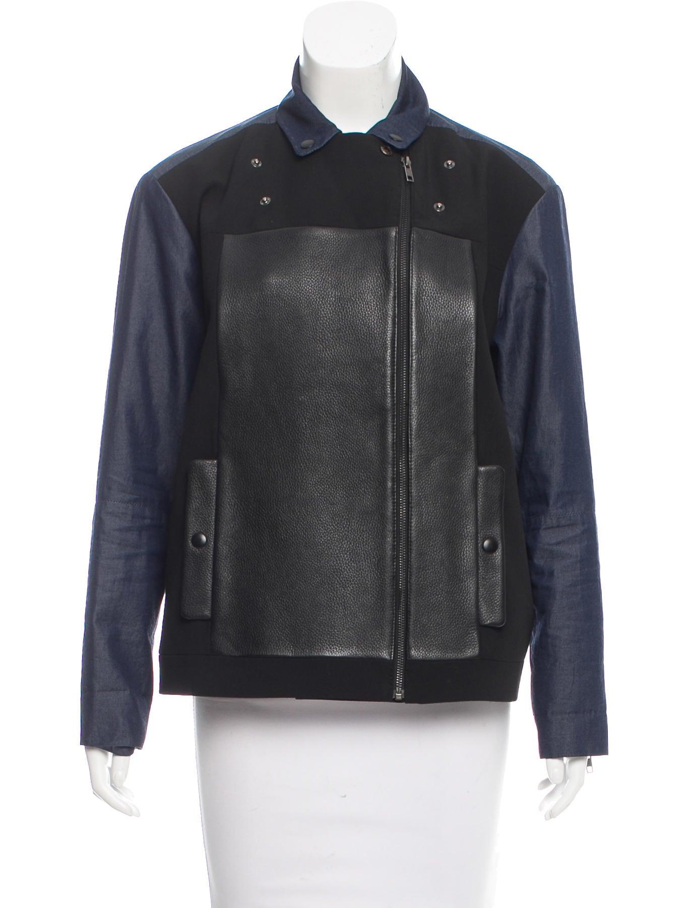 Tibi leather jacket