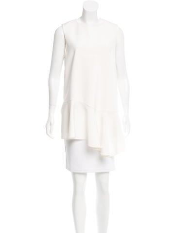Tibi Asymmetrical Sleeveless Tunic w/ Tags None