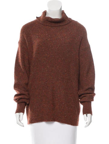 Tibi Wool-Blend Turtleneck Sweater w/ Tags None