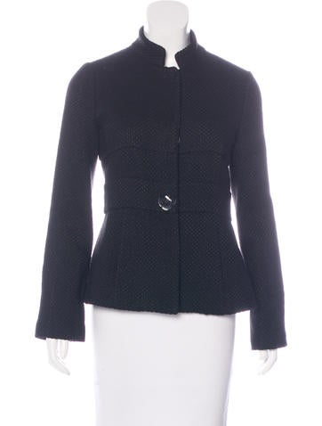 Tibi Textured Pleated Jacket