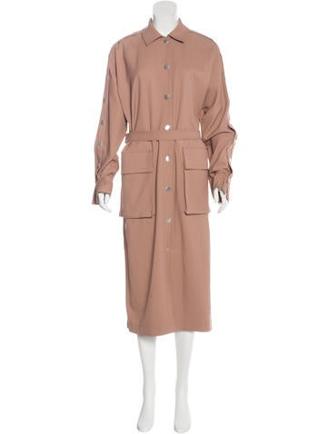 Tibi 2017 Embellished Trench Coat w/ Tags