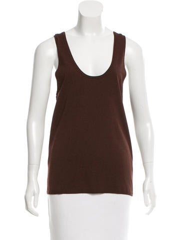 Tibi Sleeveless Knit Top w/ Tags None