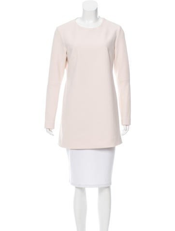 Tibi Long Sleeve Cutout Tunic None