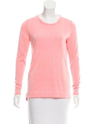 Tibi Scoop Neck Knit Sweater None