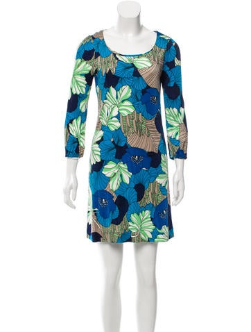 Tibi Silk-Blend Mini Dress None