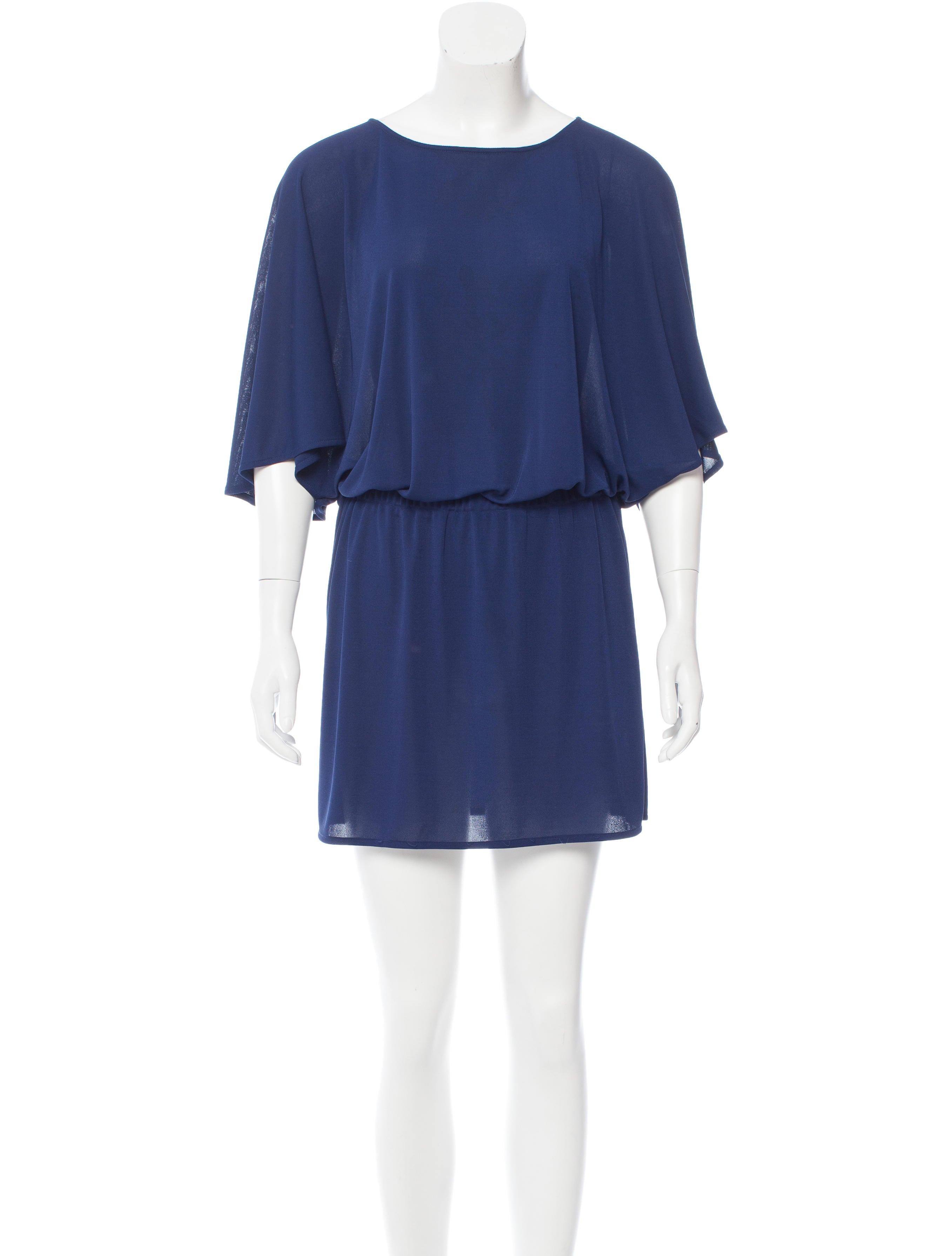 Tibi Dolman Sleeve Mini Dress Clothing WTI34690 The  : WTI346901enlarged from www.therealreal.com size 2714 x 3581 jpeg 291kB