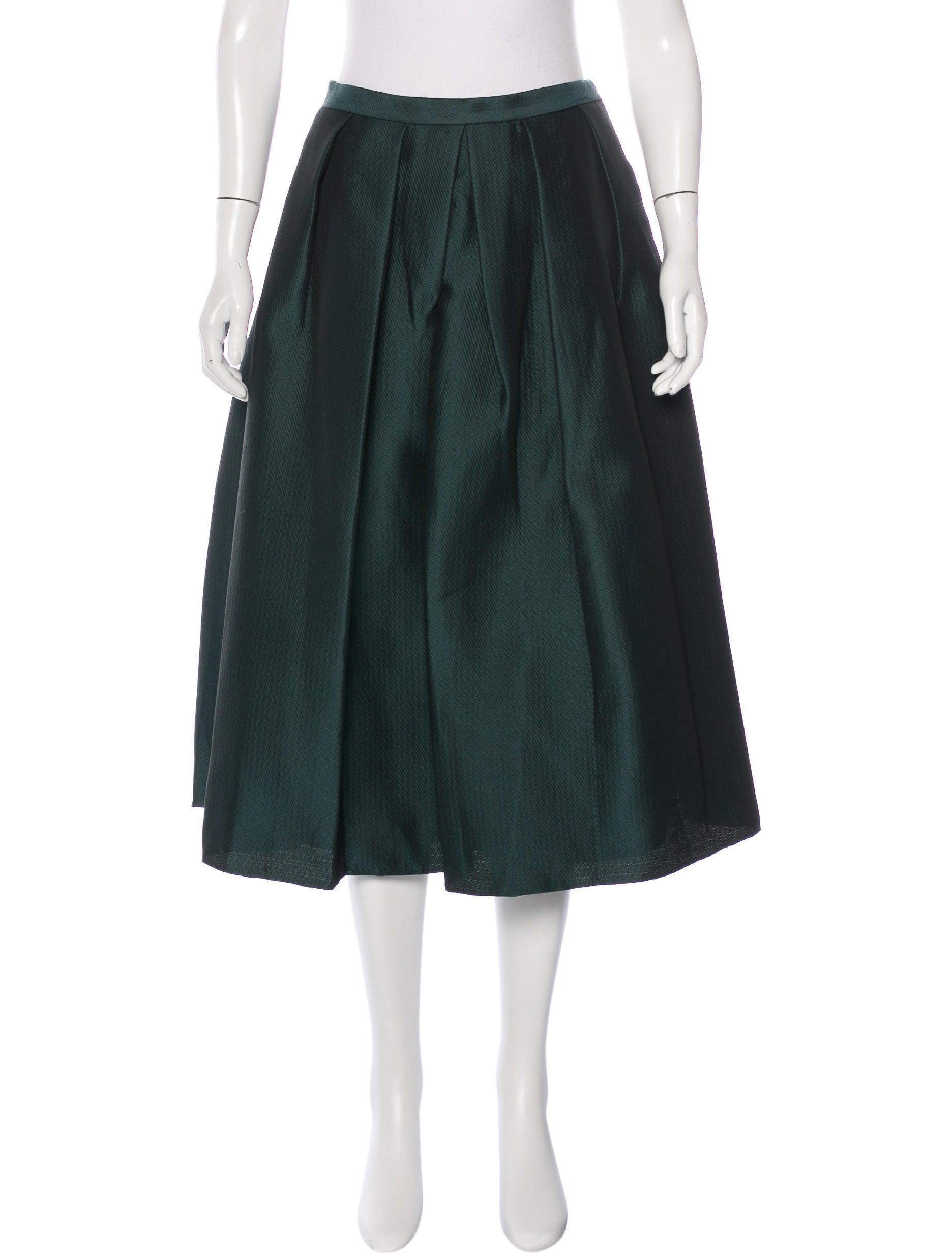 tibi pleated midi skirt w tags clothing wti34749