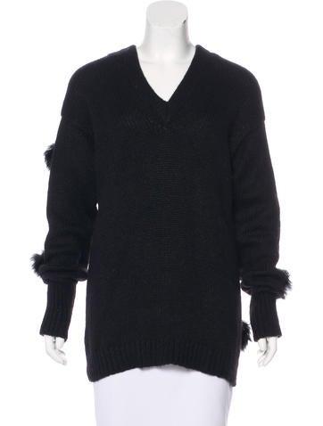 Tibi Alpaca Knit Sweater w/ Tags None