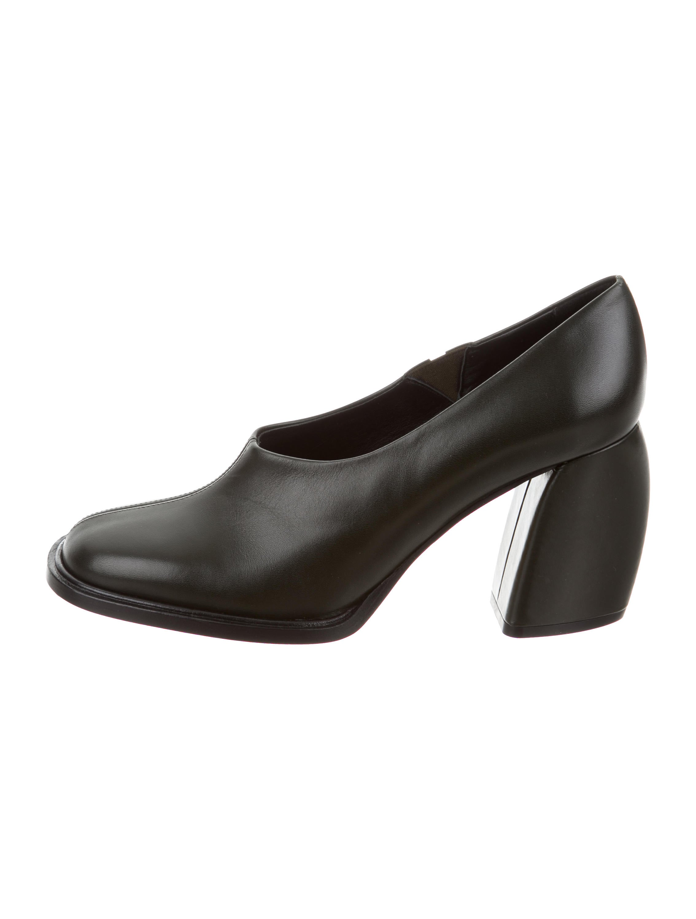 Tibi Square-Toe Leather Pumps best prices online outlet free shipping authentic enjoy cheap online clearance geniue stockist ayx1yMm6v