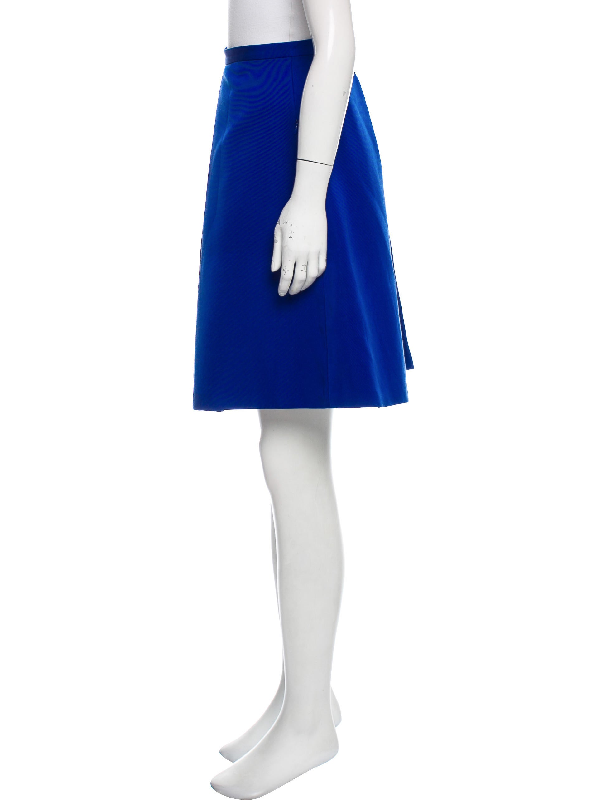tibi a line pleated skirt clothing wti38517 the realreal